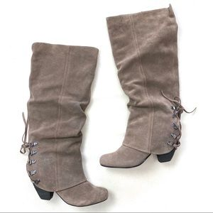Naughty Monkey Fall Fever Tall Slouchy Boots
